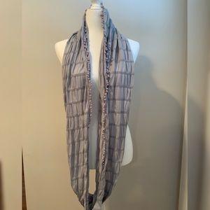 JCrew Pom Pom infinity scarf. Great condition!